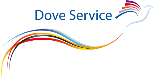 Image of a Dove. The Dove Service logo